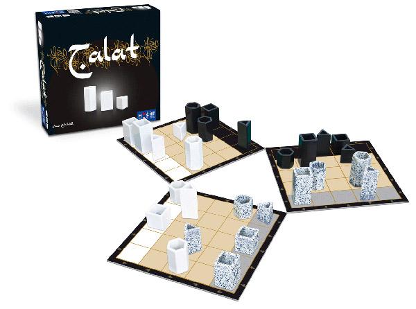 Caja y componentes de Talat