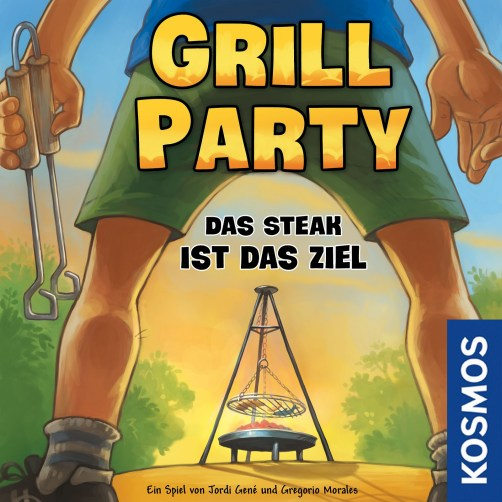 Portada definitiva de Grill Party, obra de Michael Menzel