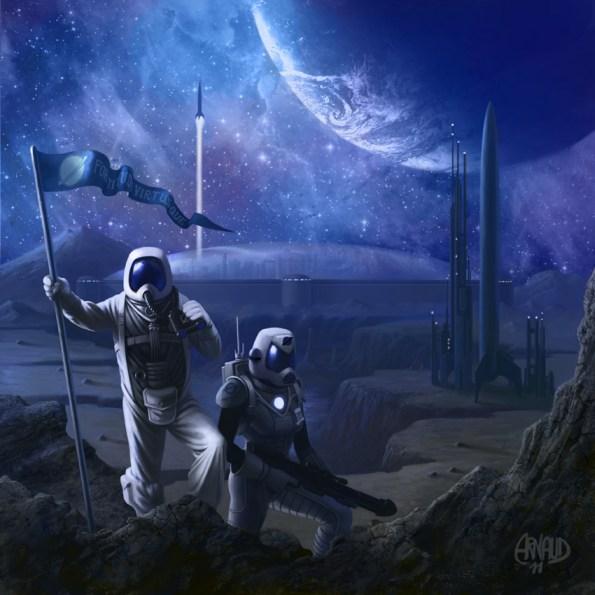 Portada provisional del nuevo Alien Frontiers