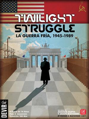Portada de la edición española de Twilight Struggle
