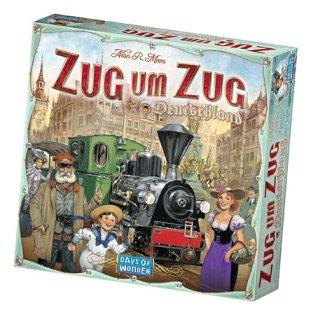 Caja de Zug um Zug Deuschland