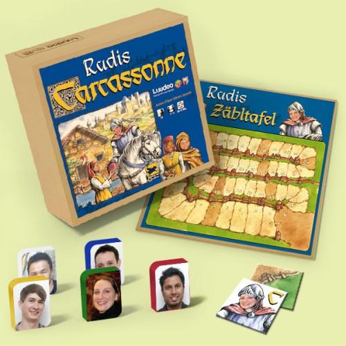 Un Carcassonne personalizado