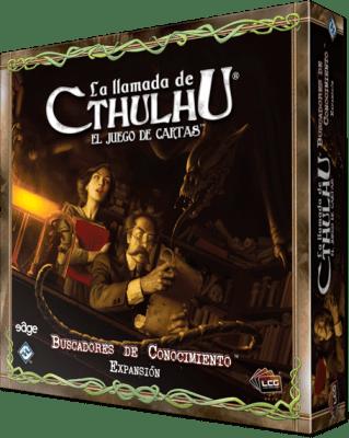 Caja de La Llamada de Cthulhu: Buscadores de Conocimiento