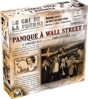 Caja de Panique à Wall Street