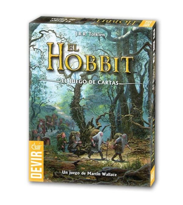 Caja de El Hobbit: El juego de cartas