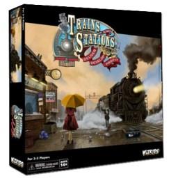 Caja de Trains & Stations