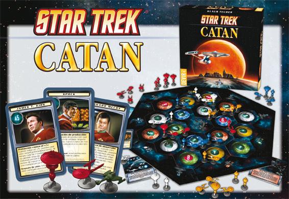 Componentes de Star Trek Catán