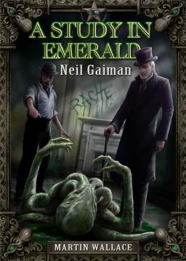 Portada de A Study in Emerald