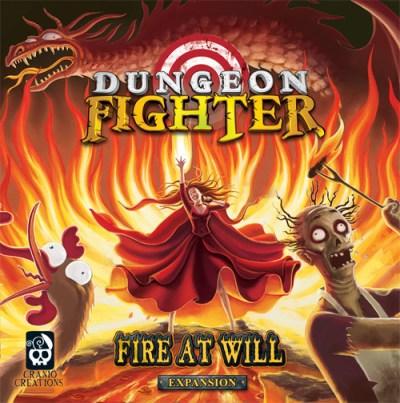 Portada de Dungeon Fighter: Fire at will