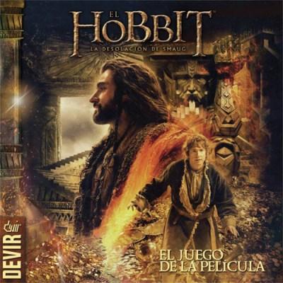 Portada de El Hobbit - La desolación de Smaug