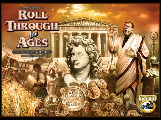 Portada de Roll Through the Ages: The Iron Age
