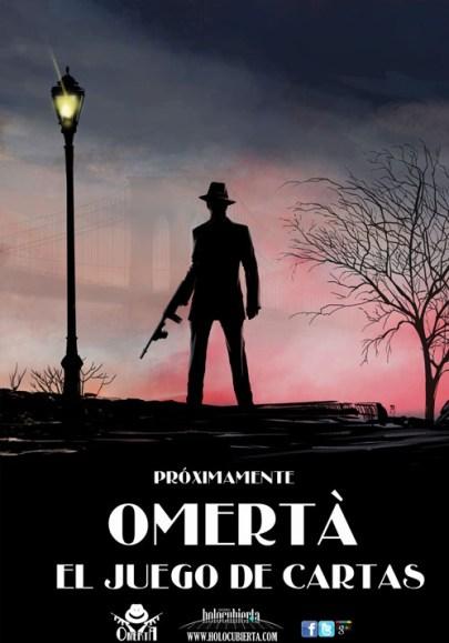 Imagen promocional de Omertà: El juego de cartas