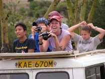 Excursion in Nairobi National Park (photo by Teru)