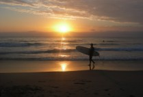 australia-wollongong-by-andrew-cameau-sunrise-surfing-at-north-beach-2006