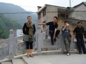 chinaxian-by-photographer-unknown-students-on-small-bridge-in-village