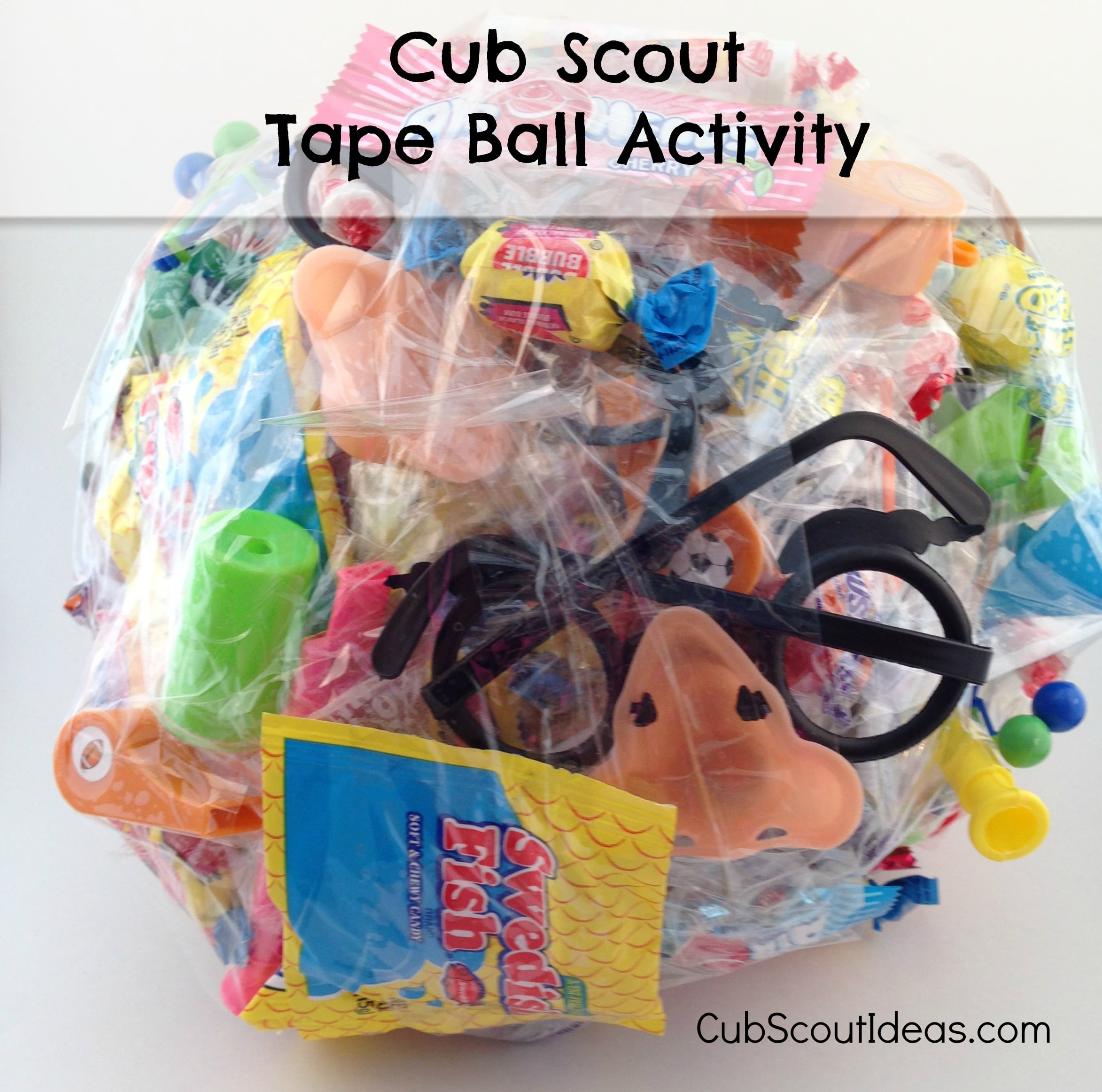 Cub Scout Pack Meeting Activity Idea Tape Ball