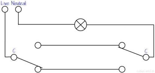 wiring diagram for a two way switch wiring diagram lighting circuit diagrams for 1 2 and 3 way switching
