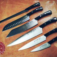 ▶️ Nuevos cuchillos de cocina artesanales fabricados en Albacete con un fuerte estilo por Enrique García