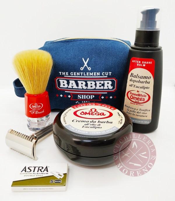 Kit de Iniciación al afeitado Clásico Básico Fatip / Omega