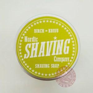 Jabón de Afeitar Koivu Nordic Shaving Company 80gr