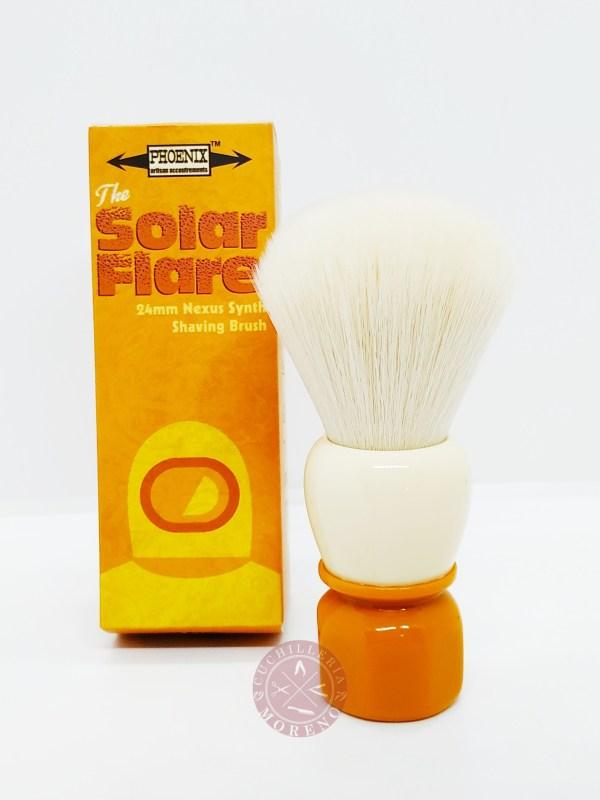 Brocha de Afeitar Phoenix Artisan Sintética Solar Flare