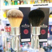 Nuevas Brochas de afeitar Razorock 400 en acabado Cromado