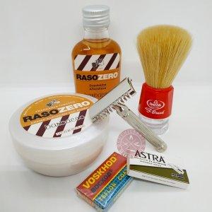 juego afeitado clasico barato tradicional maquinilla de afeitar