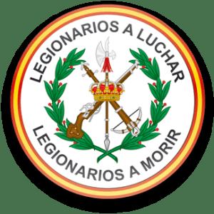 iman nevera legion española bandera españa