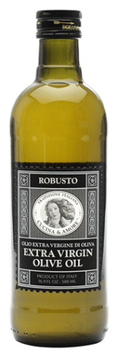 bottle of Cucina & Amore Robusto Extra Virgin Olive Oil