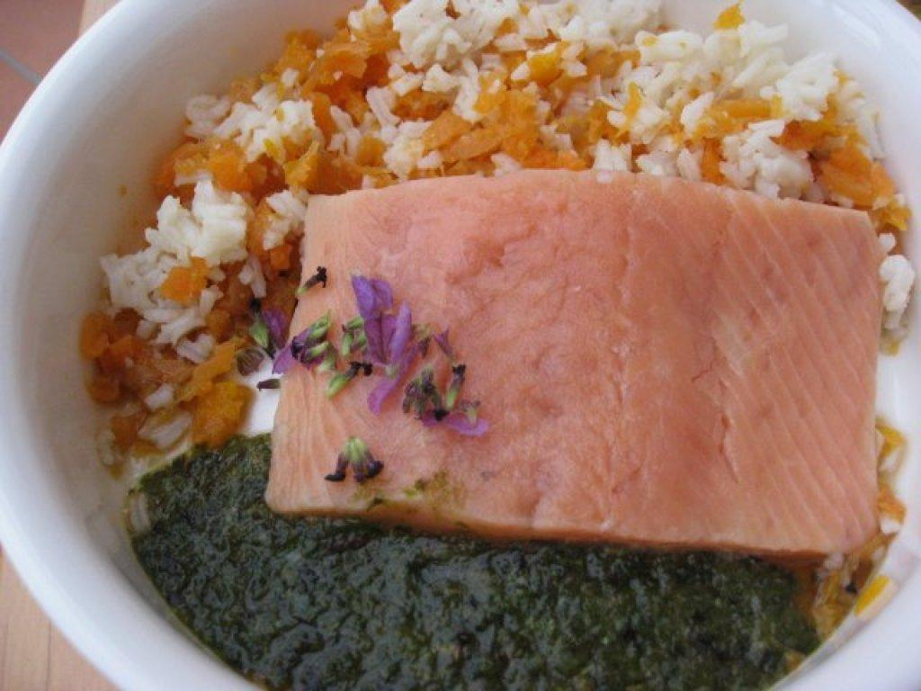 barf-rezeptlachs-an-karotte-reis-salat-lavendelblueten-mit-leinoel-14051311615007