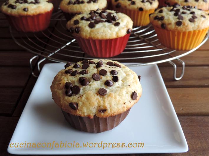 Muffin al cocco con cuore al Bounty (1/3)