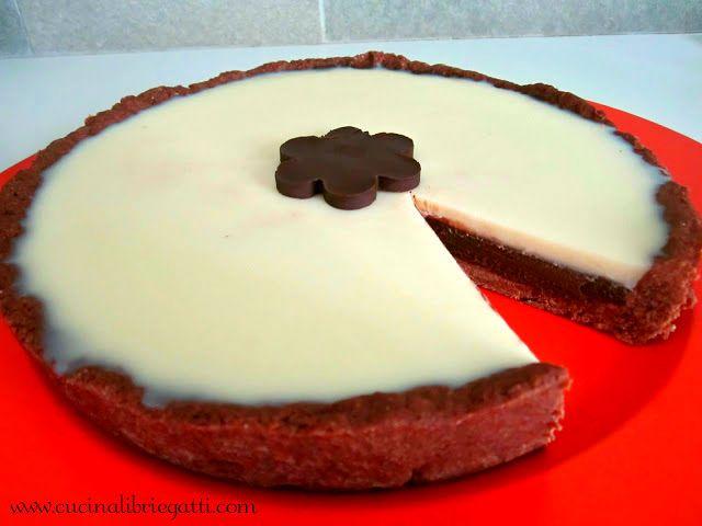 crostata al doppio cioccolato