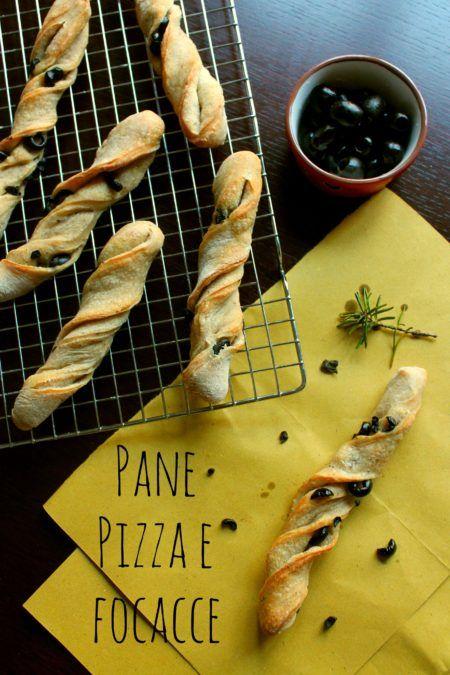 Ricette pane pizza e focacce