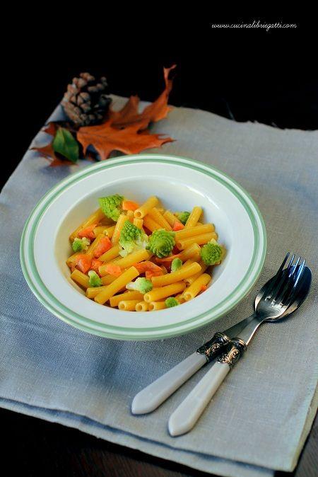 pasta con i broccoli e trota