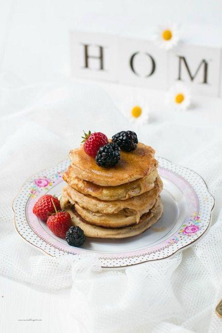Pancake vegan al cardamomo