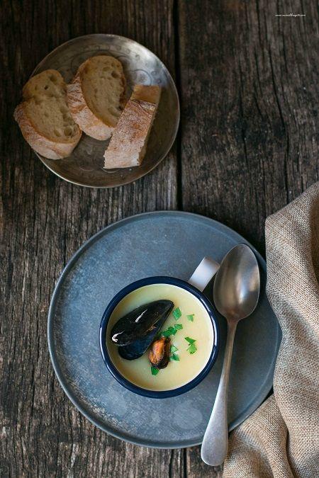 zuppa di cozze e patate