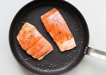 cottura del salmone