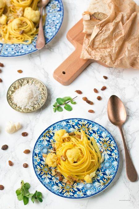 ricetta pasta con cavolfiore