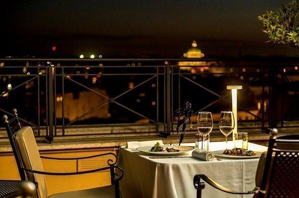 cena di san valentino a roma