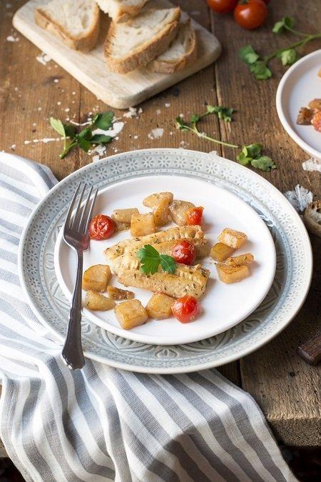 filetti gustosi di merluzzo