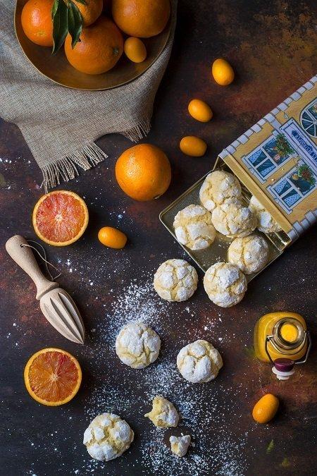 ricetta biscotti all'arancia