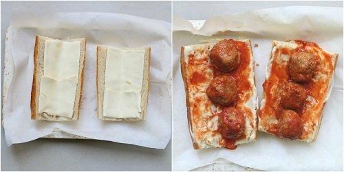 come preparare panini alle polpette