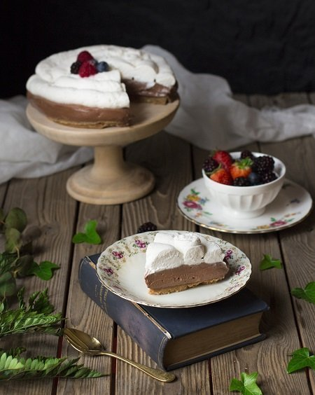 cheesecake nutella e mascarpone