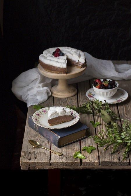 torta fredda alla nutella