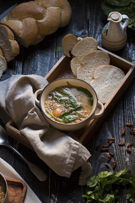 minestra di quinoa