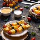 spiedini di polenta