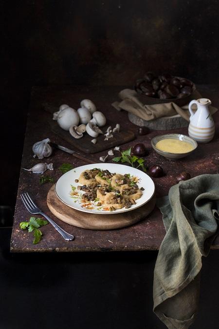 gnocchi semolino e castagne