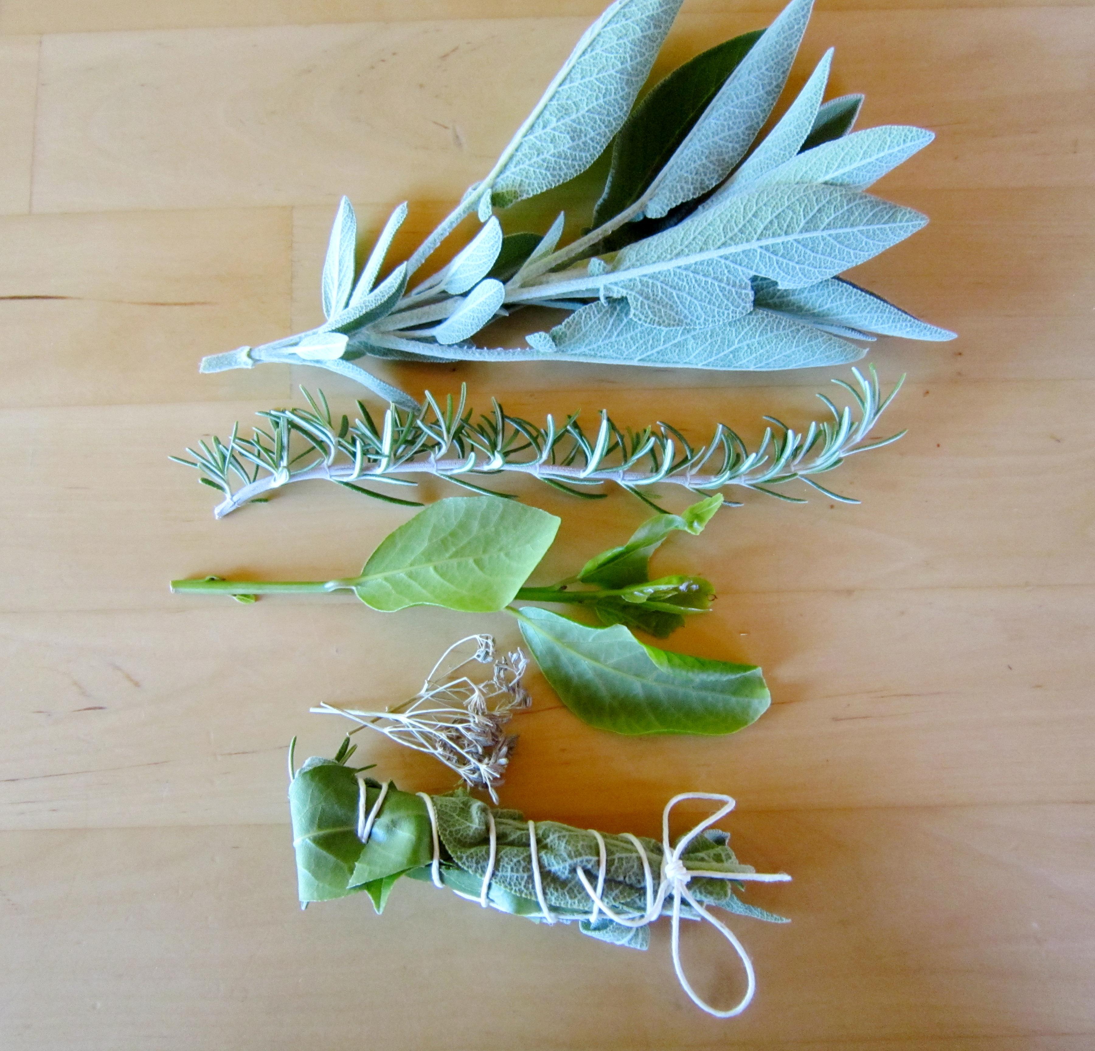 Bouquet garni: mazzetto di erbe aromatiche
