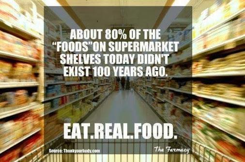 Considerazioni sul cibo dei giorni nostri