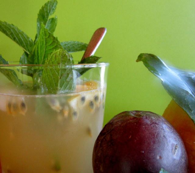 Super drink rinfrescante al frutto della passione